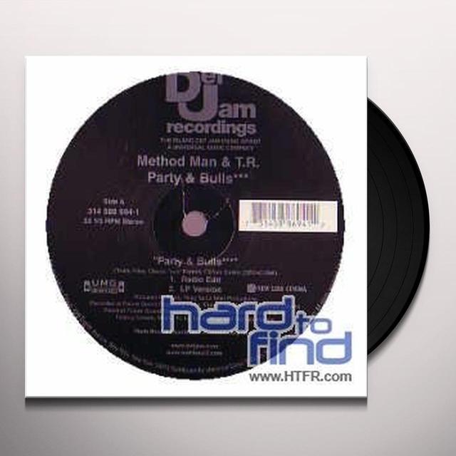 METHOD MAN/RILEY PARTY Vinyl Record
