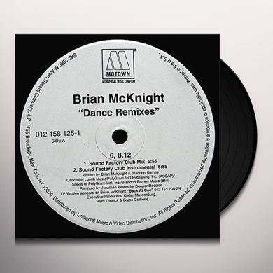 Brian Mcknight 6 8 12 INCHES Vinyl Record - Canada Import