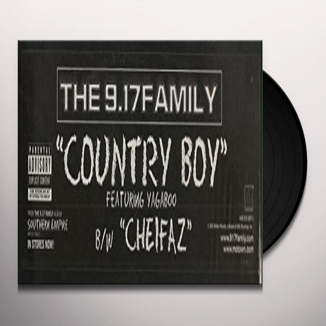 9.17 FAMILY COUNTRY BOY Vinyl Record - Canada Import