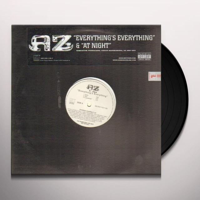 Az EVERYTHING'S EVERYTHING Vinyl Record - Canada Import