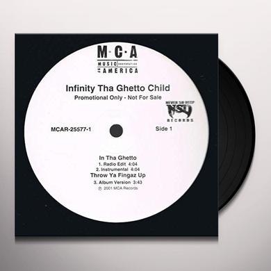 INFINITY-THA GHETTO CHILD IN THA GHETTO Vinyl Record - Canada Import