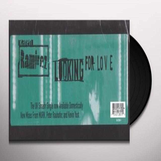 Karen Ramirez LOOKING FOR LOVE Vinyl Record - Canada Import