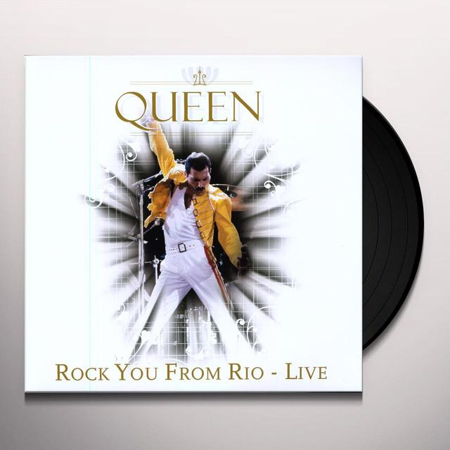 Queen ROCK YOU FROM RIO Vinyl Record - Holland Release