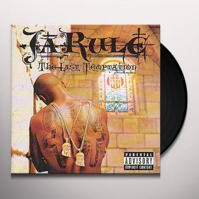 Ja Rule LAST TEMPTATION Vinyl Record - Canada Import