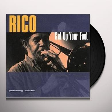 RICO & HIS BAND GET UP YOUR FOOT Vinyl Record - Italy Import