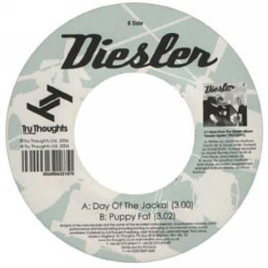 Diesler DAY OF THE JACKAL/PUPPY FAT Vinyl Record