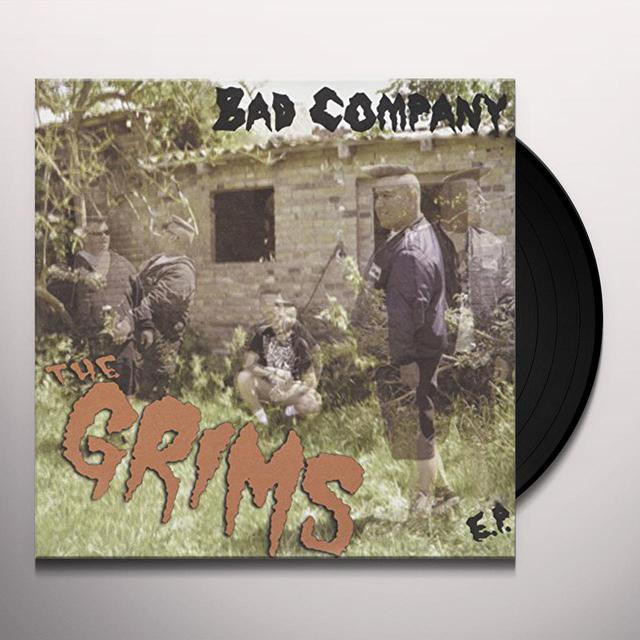 GRIMS BAD COMPANY Vinyl Record