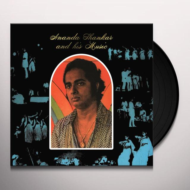 ANANDA SHANKAR & HIS MUSIC Vinyl Record