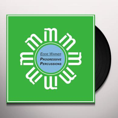 Eddie Warner PROGRESSIVE PERCUSSIONS Vinyl Record