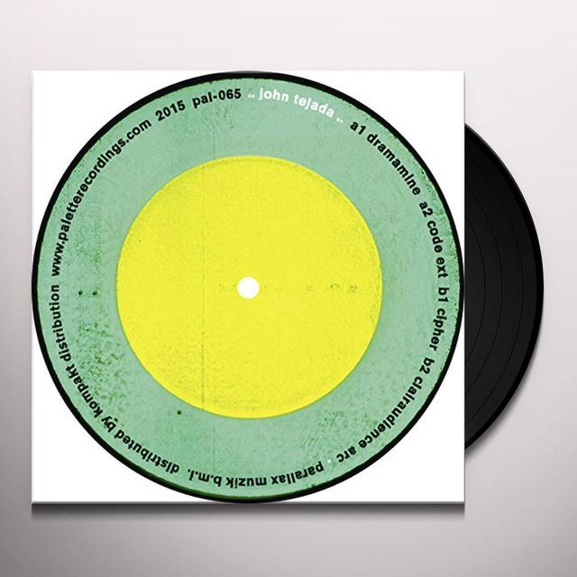 John Tejada DRAMAMINE Vinyl Record