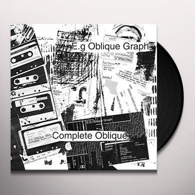 E.G OBLIQUE GRAPH COMPLETE OBLIQUE Vinyl Record