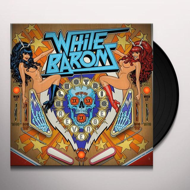 WHITE BARONS ELECTRIC REVENGE Vinyl Record