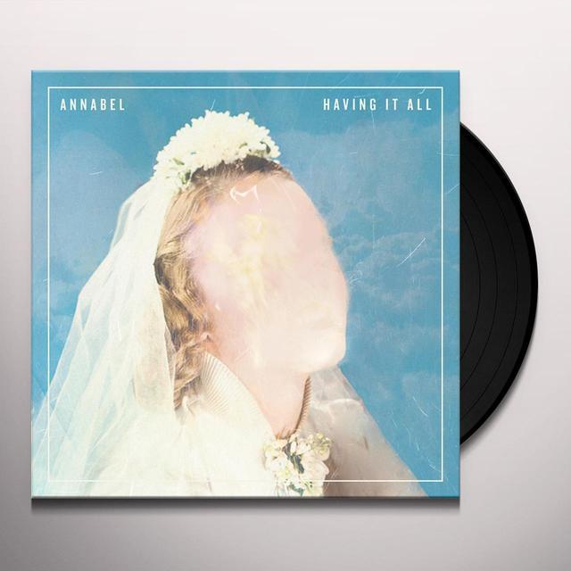 Annabel HAVING IT ALL Vinyl Record - Black Vinyl, Digital Download Included