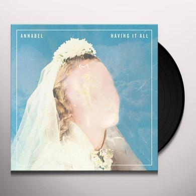 Annabel HAVING IT ALL Vinyl Record - Black Vinyl, Digital Download Included