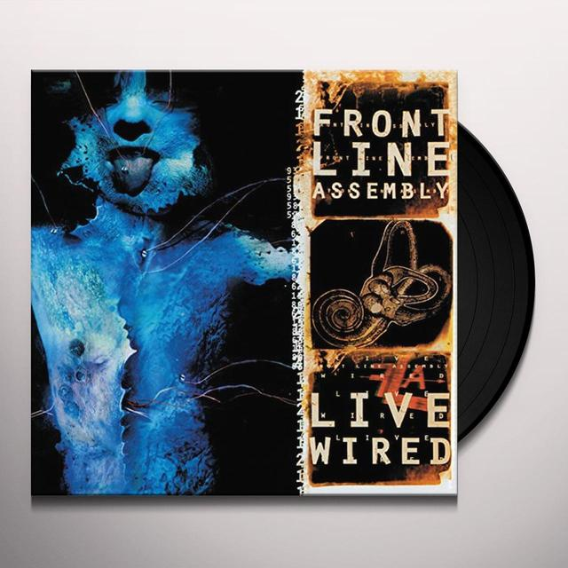 Front Line Assembly LIVE WIRED Vinyl Record