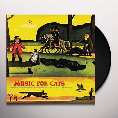 cEvin Key MUSIC FOR CATS Vinyl Record