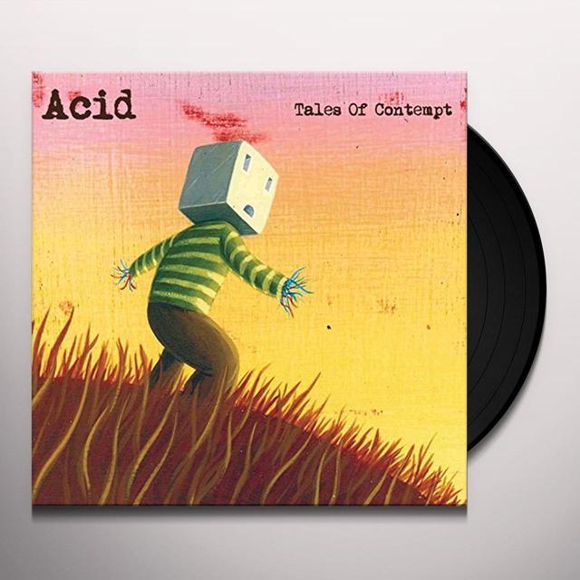 Acid TALES OF CONTEMPT Vinyl Record