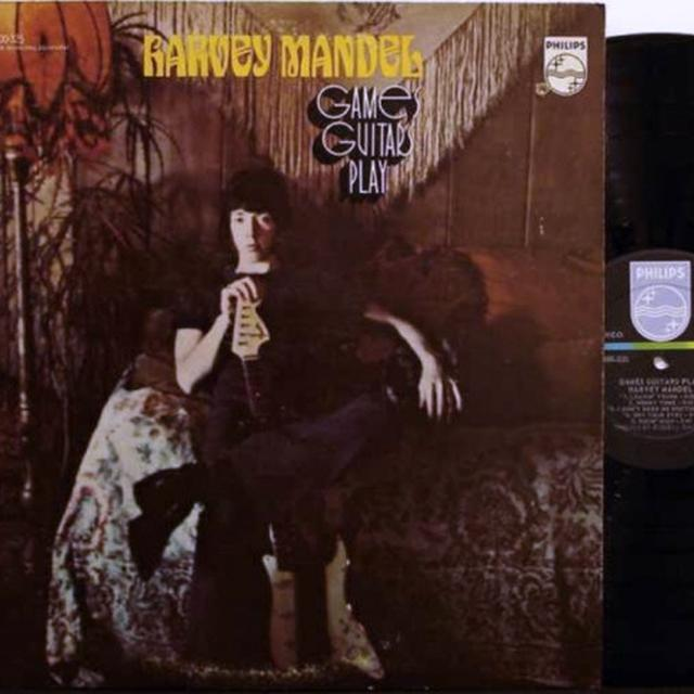 Harvey Mandel GAMES GUITARS PLAY Vinyl Record