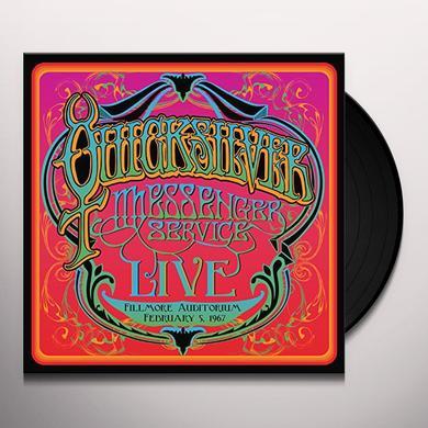 Quicksilver Messenger Service FILLMORE AUDITORIUM - FEBRUARY 5, 1967 Vinyl Record