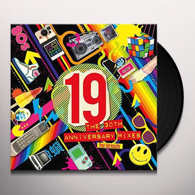 Paul Hardcastle 19 (THE 30TH ANNIVERSARY MIXES) Vinyl Record - Anniversary Edition, UK Import