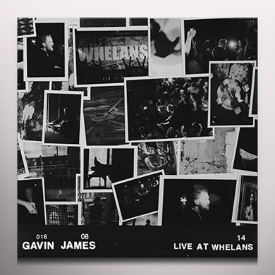Gavin James LIVE AT WHELANS (CLEAR VINYL) Vinyl Record