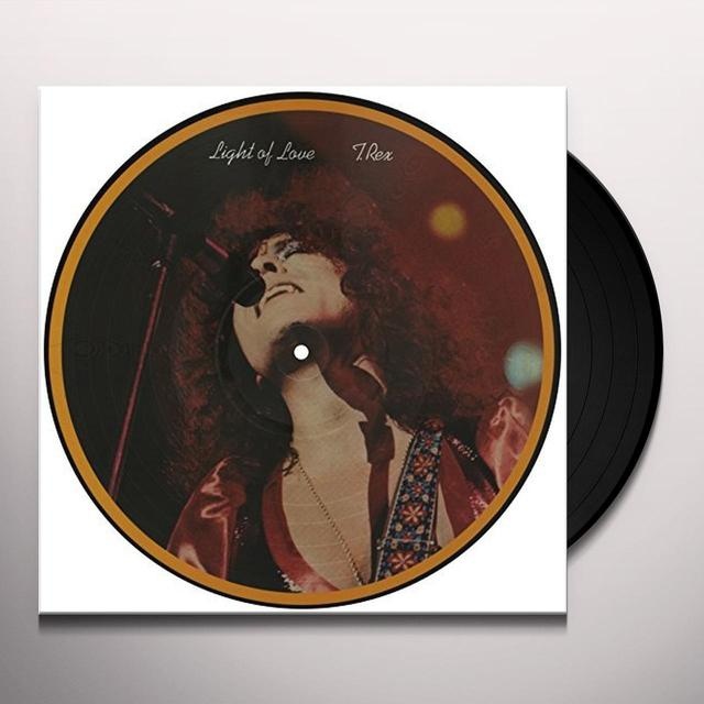 T-Rex LIGHT OF LOVE Vinyl Record - UK Import