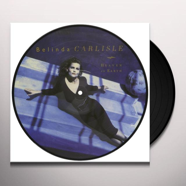 Belinda Carlisle HEAVEN IS A PLACE ON EARTH Vinyl Record - UK Import