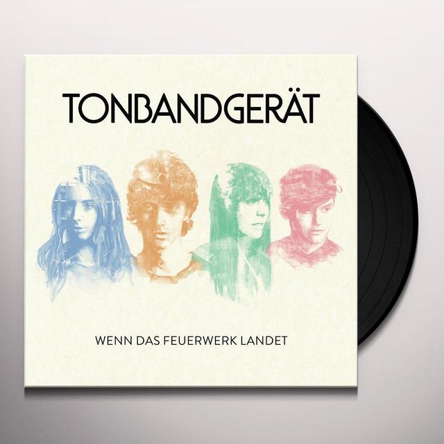 TONBANDGERAT WENN DAS FEUERWERK LANDET Vinyl Record - Holland Import