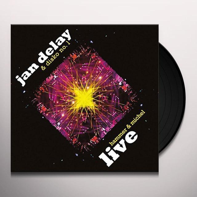 Jan Delay HAMMER & MICHEL LIVE Vinyl Record