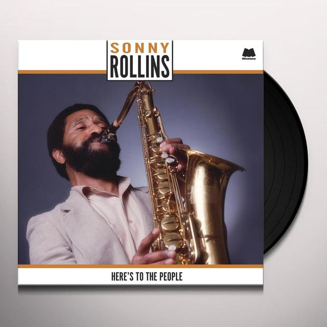 Sonny Rollins HERE'S TO THE PEOPLE Vinyl Record