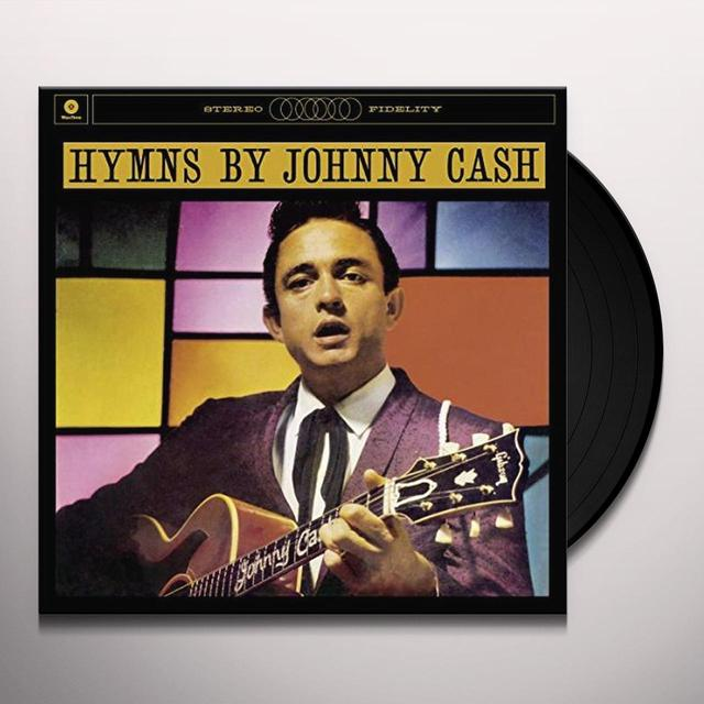HYMNS BY JOHNNY CASH Vinyl Record - Spain Import