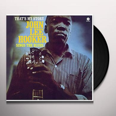 John Lee Hooker THAT'S MY STORY Vinyl Record - Spain Release