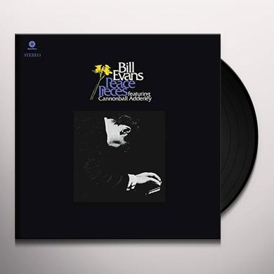 Bill Evans PEACE PIECES Vinyl Record - Spain Release