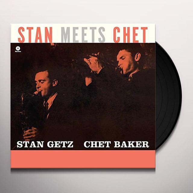 Chet Baker, Stan Getz STAN MEETS CHET Vinyl Record - Spain Import