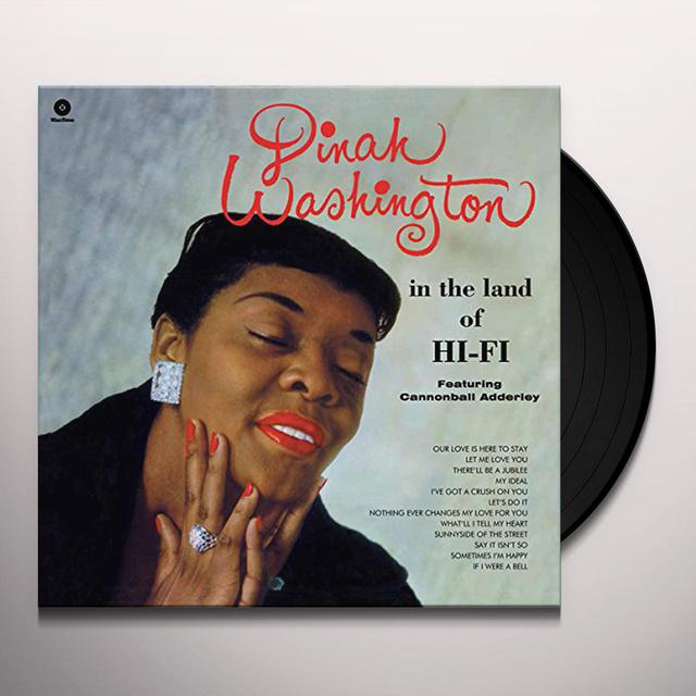 Dinah Washington IN THE LAND OF HI-FI Vinyl Record - Spain Release