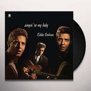 Eddie Cochran SINGIN' TO MY BABY Vinyl Record - Spain Import
