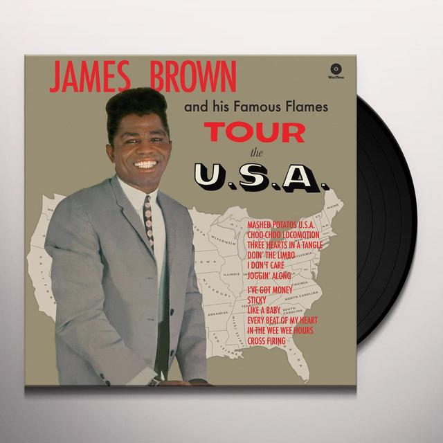 James Brown TOUR THE U.S.A Vinyl Record - Spain Import