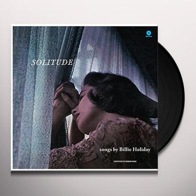 Billie Holiday SOLITUDE Vinyl Record - Spain Import
