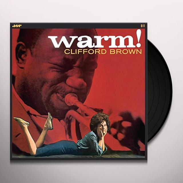 Clifford Brown WARM Vinyl Record - Spain Import