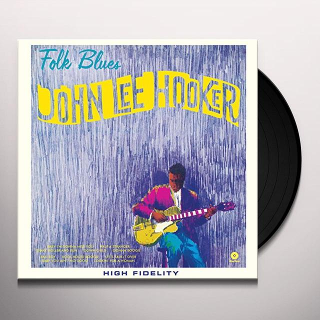 John Lee Hooker FOLK BLUES Vinyl Record - Spain Import