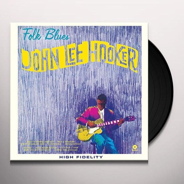 John Lee Hooker FOLK BLUES Vinyl Record - Spain Release
