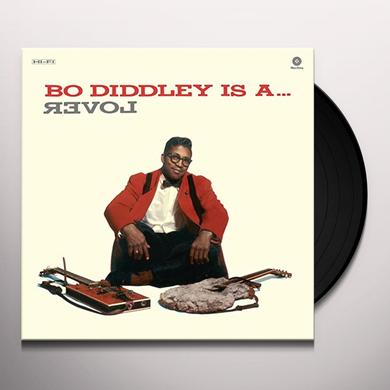 Bo Diddley IS A LOVER Vinyl Record - Spain Import