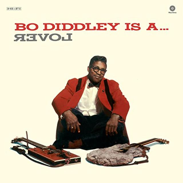 Bo Diddley IS A LOVER Vinyl Record - Spain Release