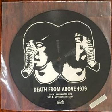 Death From Above 1979 TRAINWRECK 1979 Vinyl Record - Canada Release