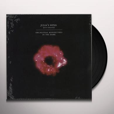 O.M.D. JULIA'S SONG DUB VERSION Vinyl Record