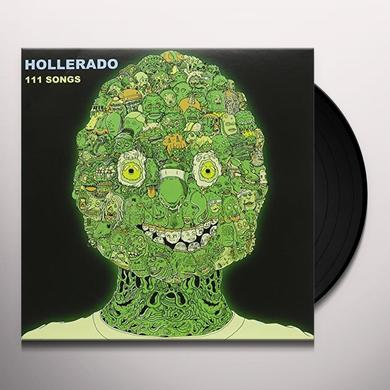 Hollerado 111 SONGS Vinyl Record - Canada Import
