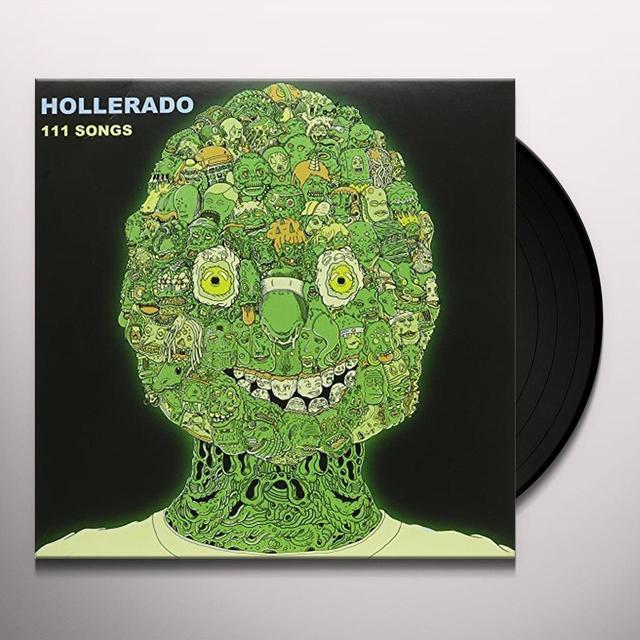 Hollerado 111 SONGS Vinyl Record - Canada Import