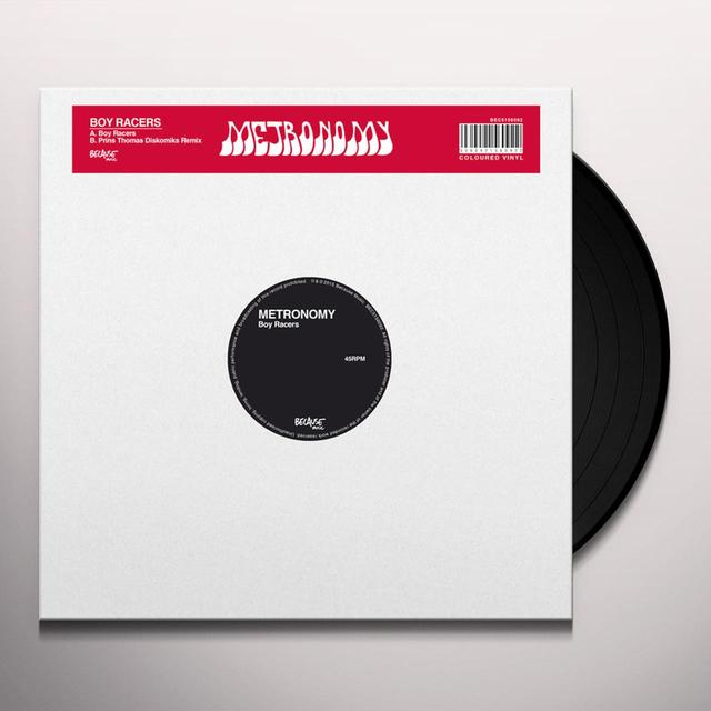 Metronomy BOY RACERS Vinyl Record - Canada Import