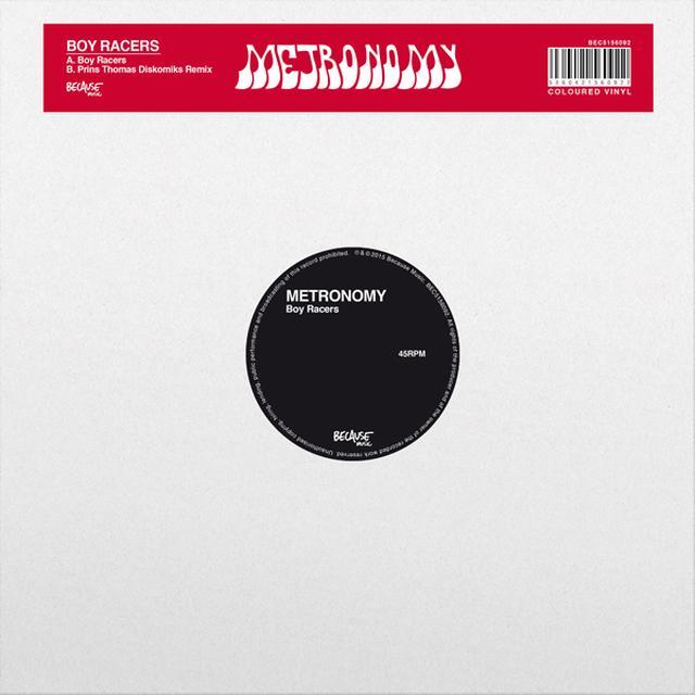 Metronomy BOY RACERS Vinyl Record - Canada Release