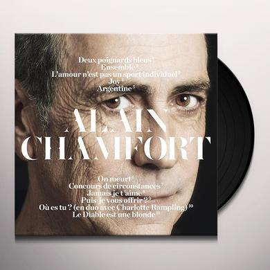 ALAIN CHAMFORT Vinyl Record